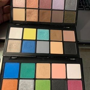 Trio of nyx avant pop eyeshadow palettes